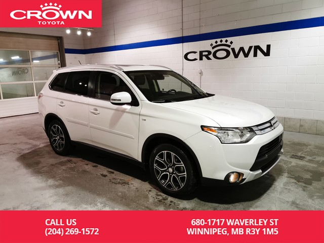 Pre-Owned 2015 Mitsubishi Outlander GT S-AWC / Local / One Owner / 7 Pass / Leather / Highway Kms