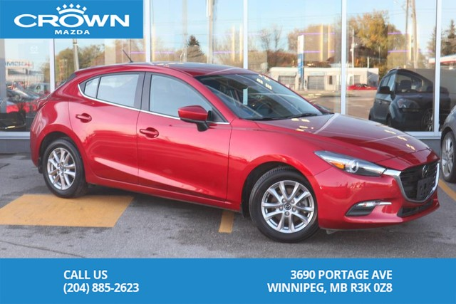 Pre-Owned 2018 Mazda3 Sport GS **Bought Here/Serviced Here**