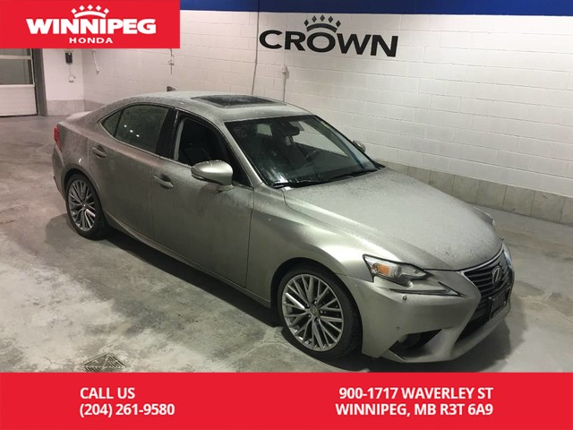 Pre-Owned 2014 Lexus IS 250 AWD/Sunroof/Bluetooth/Heated seats/Rear view camera