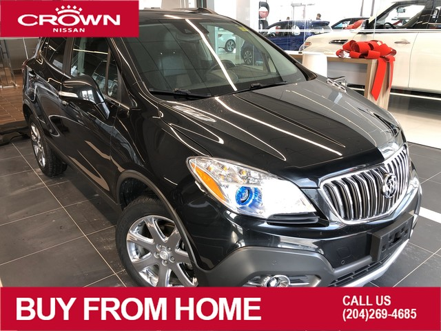 Pre-Owned 2016 Buick Encore Premium AWD *Navigation/Accident Free/Winter Tires*