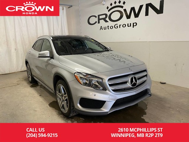 Pre-Owned 2015 Mercedes-Benz GLA 4MATIC 4dr GLA 250/ ACCIDENT FREE HISTORY/ LOW KMS/ HEATED FRONT SEATS/ BLUETOOTH/ PANORAMIC SUNROOF/ NAVI