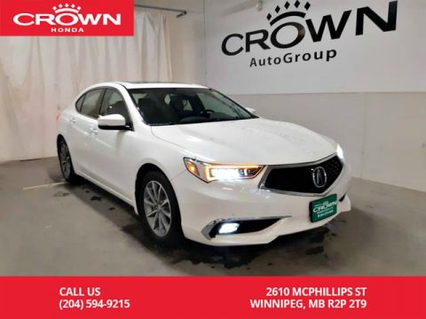 Pre-Owned 2018 Acura TLX Elite/ one owner/ clean title/ low kms/ navigation/ back up cam/ sunroof/ push start/ heated seats