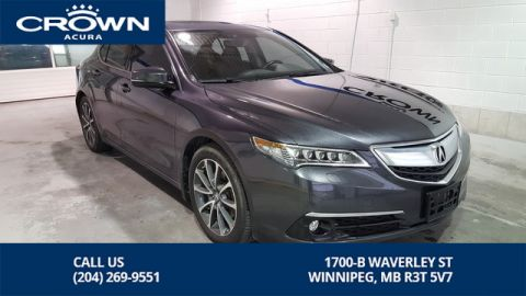 Certified Pre-Owned 2015 Acura TLX Elite SH-AWD **0.9% Finance Ends This Month** No Charge Extended Warranty**