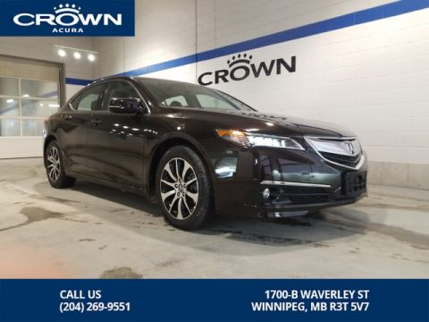 Pre-Owned 2017 Acura TLX Elite SH-AWD ** Includes Winter Tires ** Low Kms **