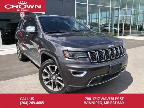 Pre-Owned 2018 Jeep Grand Cherokee Limited 4x4 *Clean CarFax/Bluetooth/Navigation*