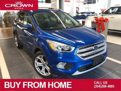 Pre-Owned 2017 Ford Escape Titanium 4WD *Navigation/Heated Seats/Remote Start*