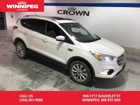 Pre-Owned 2017 Ford Escape Titanium/Leather/Heated seats/Power tailgate/SYNC