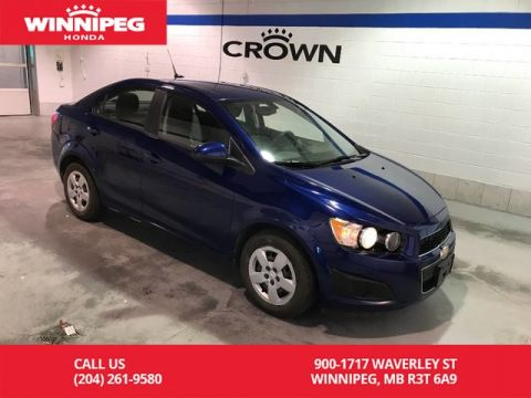 Pre-Owned 2014 Chevrolet Sonic LS Auto/Air conditioning/Economic/Great car!