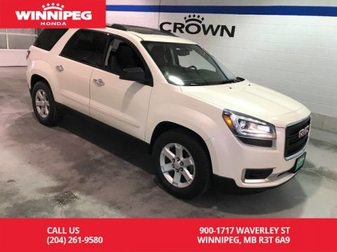 Pre-Owned 2015 GMC Acadia AWD/SLE2/Sunroof/Heated seats/Rear view camera