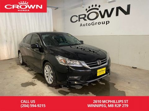 Pre-Owned 2015 Honda Accord Sedan 4dr I4 CVT Touring/ LOW KMS/ HEATED FRONT SEATS/ BLUETOOTH/ NAVIGATION/ SUNROOF/ PUSH START