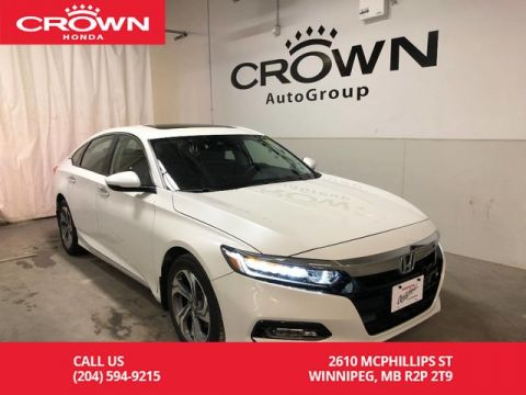 Pre-Owned 2018 Honda Accord Sedan EX-L CVT/ ACCIDENT FREE HISTORY/ APPLE CAR-PLAY & ANDROID AUTO