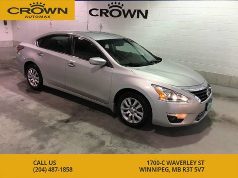 Pre-Owned 2015 Nissan Altima S **Brand New Front Brakes and Rotors**
