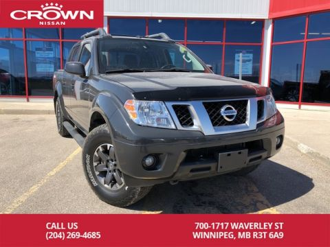 Pre-Owned 2015 Nissan Frontier PRO-4X 4WD Crew Cab V6 *Bluetooth/Local/Trade In*