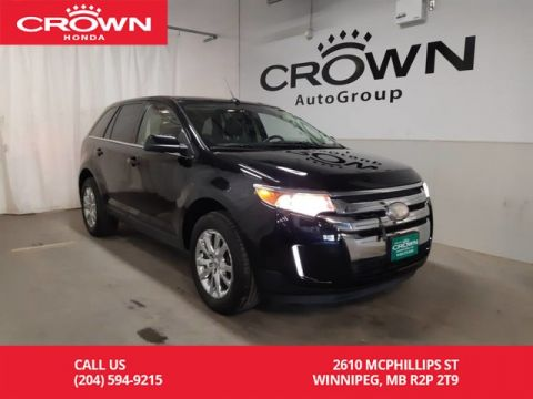 Pre-Owned 2012 Ford Edge Limited/AWD/ push start button/back up cam/ panoramic sunroof