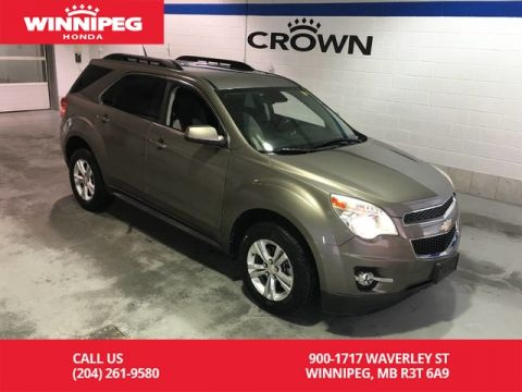Pre-Owned 2012 Chevrolet Equinox AWD/2LT/Bluetooth/Power driver seat/Rear view camera