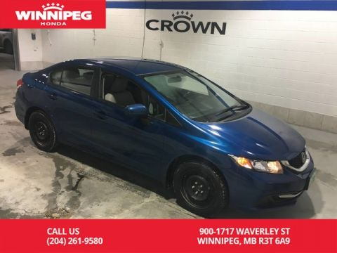 Pre-Owned 2014 Honda Civic Sedan LX/Bluetooth/Heated seats/Crown Original