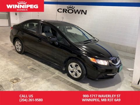 Pre-Owned 2015 Honda Civic Sedan LX/Bluetooth/heated seats/Rear view camera/Crown Original