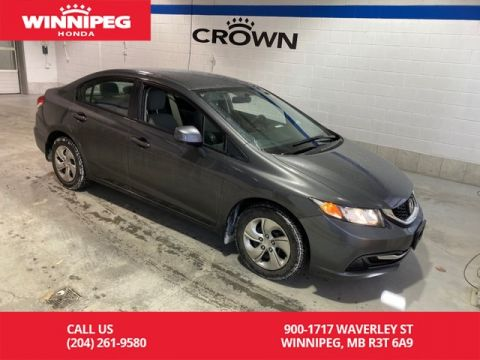 Pre-Owned 2013 Honda Civic Sdn LX/Bluetooth/ECON mode/#1 selling car in Canada