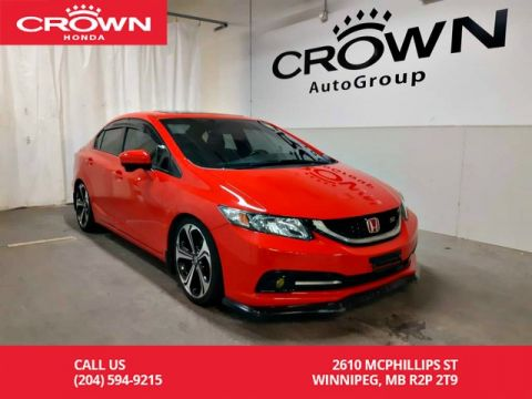 Pre-Owned 2015 Honda Civic Sedan Si/MT/4DR/ ACCIDENT-FREE/ ONE OWNER/ LOW KMS/ REMOTE START/ BACK UP CAM/ PUSH START/ NAVIGATION