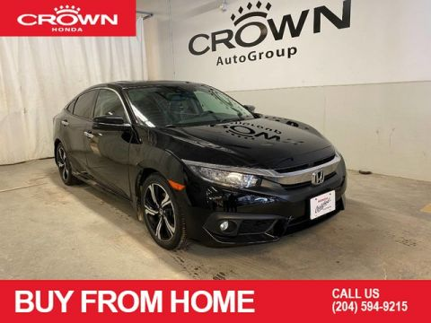 Pre-Owned 2017 Honda Civic Sedan 4dr CVT Touring/ ONE OWNER/ LOW KMS/ HEATED SEATS/ BACKUP CAMERA/ BLUETOOTH/ SUNROOF