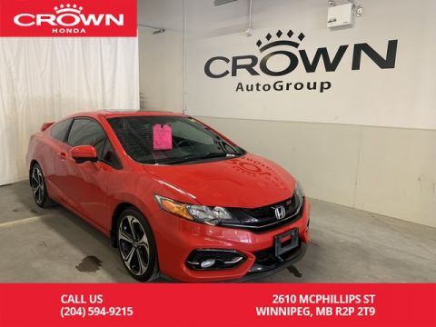Pre-Owned 2015 Honda Civic Coupe 2dr Man Si/heated seats/navigation/ one owner lease return/very low kms