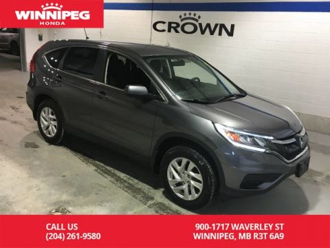 Pre-Owned 2015 Honda CR-V SE/AWD/Heated seats/Rear view camera/One touch folding seats