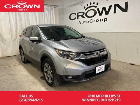 Pre-Owned 2018 Honda CR-V EX AWD/ ONE OWNER/ ACCIDENT FREE HISTORY/ HEATED FRONT SEATS/ SUNROOF/ BACKUP CAMERA