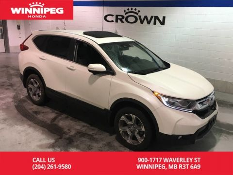 Certified Pre-Owned 2017 Honda CR-V Certified/EX/Bluetooth/Heated seats/Sunroof/Apple carplay