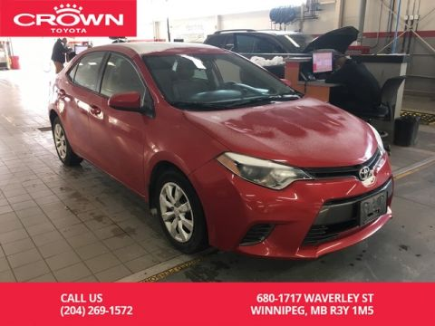 Pre-Owned 2015 Toyota Corolla LE / Crown Original / One Owner / Heated Seats / Great Value