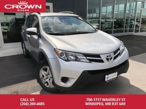 Pre-Owned 2014 Toyota RAV4 LE AWD *Clean CarFax/Bluetooth*