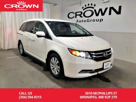 Certified Pre-Owned 2016 Honda Odyssey EX/ ACCIDENT-FREE HISTORY/ LOW KMS/ 2-way REMOTE START/ ONE OWNE