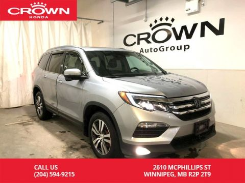 Certified Pre-Owned 2018 Honda Pilot EX with REMOTE START/ ROOF RAILS/ POWER MOON ROOF/ FOG LIGHTS/ BLIND-SPOT MONITORING CAMERA and many more.