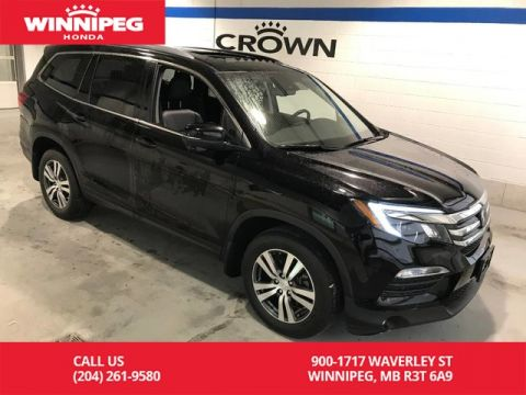 Pre-Owned 2017 Honda Pilot EX-L w/RES/Sunroof/Leather/Heated seats/Push button start