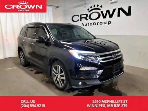 Certified Pre-Owned 2017 Honda Pilot Touring/