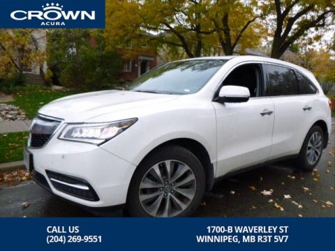 Certified Pre-Owned 2016 Acura MDX Navi SH-AWD **Includes 7 Year No Charge Extended Warranty** Includes Remote Starter**