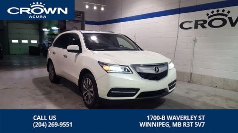 Certified Pre-Owned 2016 Acura MDX Navi SH-AWD **Includes No Charge Extended Warranty** Navigation**