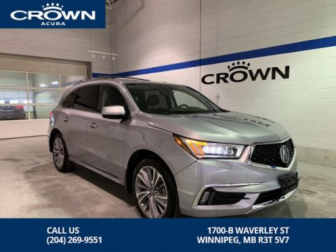 Certified Pre-Owned 2017 Acura MDX Elite SH-AWD ** Extra Wide DVD Player ** Factory Roof Rails and Cross Bars **