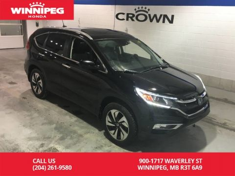 Pre-Owned 2015 Honda CR-V Touring/Navigation/Leather/Lease return/Power tailgate
