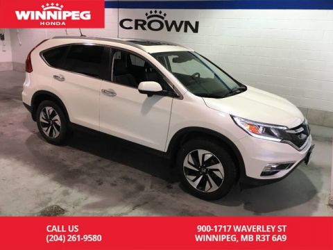 Pre-Owned 2016 Honda CR-V Touring/Heated seats/Bluetooth/Navigation/Power tailgate