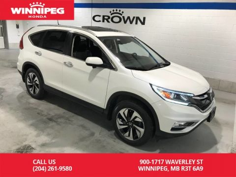 Pre-Owned 2015 Honda CR-V AWD/Touring/Accident free/One owner/Bluetooth