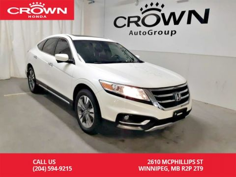 Pre-Owned 2014 Honda Crosstour EX-L/ 4WD/ accident-free/ one owner/ low kms/ push start/ heated