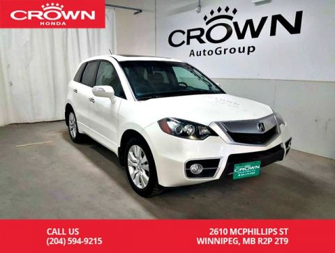 Pre-Owned 2010 Acura RDX Tech Pkg/AWD/ACCIDENT-FREE/ NAVIGATION/BLUETOOTH/HEATED SEATS/POWER SUNROOF