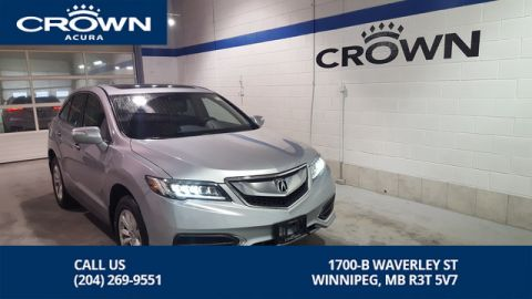 Certified Pre-Owned 2017 Acura RDX Premium AWD ** Includes No Charge 7 Year Extended Warranty** Sunroof**