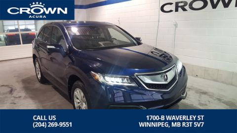 Certified Pre-Owned 2016 Acura RDX Tech SH-AWD ** Navigation** Includes No Charge Extended Warranty** Remote Starter**