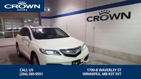 Certified Pre-Owned 2017 Acura RDX Tech AWD ** Includes No Charge 130000 Km Extended Warranty** Remote Starter**