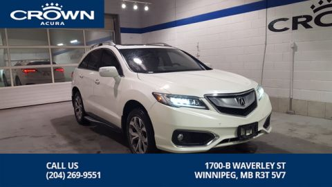 Certified Pre-Owned 2016 Acura RDX Elite AWD **Includes No Charge 130000 Km Extended Warranty** Includes Remote Start**