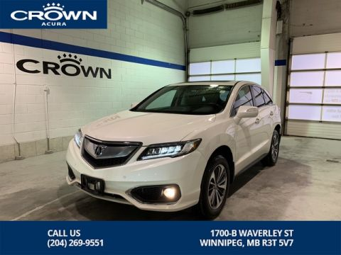 Certified Pre-Owned 2017 Acura RDX Elite AWD ** Heated and Cooled Leather ** Low Kms **
