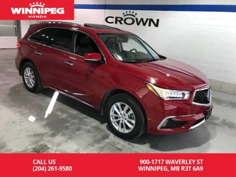 Pre-Owned 2018 Acura MDX Elite SH-AWD/Bluetooth/Apple car play/DVD/Heated steering wheel