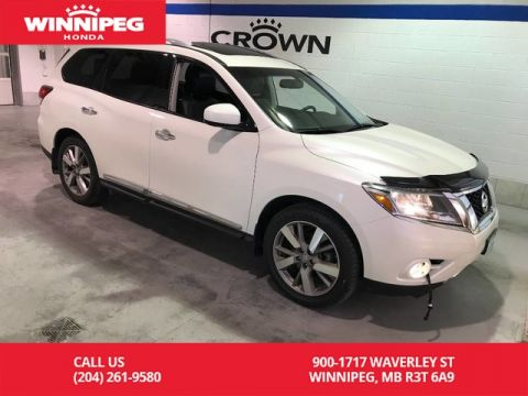 Pre-Owned 2016 Nissan Pathfinder Platinum/DVD/Panoramic roof/Bluetooth/Leather