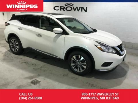 Pre-Owned 2015 Nissan Murano AWD/SL/One owner/Navigation/Sunroof
